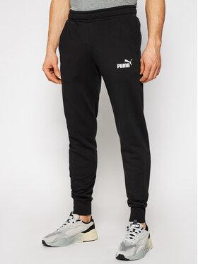 Puma Puma Spodnie dresowe Essential 586749 Czarny Slim Fit