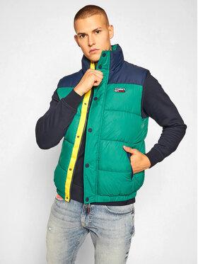 Tommy Jeans Tommy Jeans Mellény Corp DM0DM09380 Zöld Regular Fit