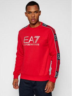 EA7 Emporio Armani EA7 Emporio Armani Bluza 6HPM03 PJ3MZ 1578 Czerwony Regular Fit