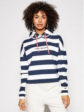 Tommy Jeans Tommy Jeans Sweatshirt Bxy Stripe DW0DW09921 Bleu marine Relaxed Fit