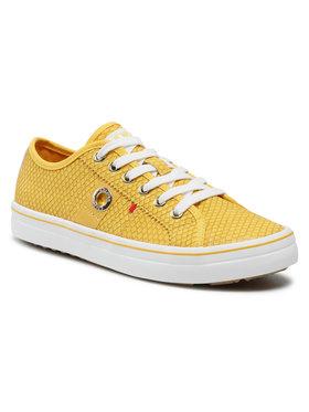 s.Oliver s.Oliver Sneakersy 5-23640-26 Żółty