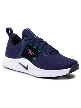 Nike Nike Boty Renew In-Season Tr 10 CK2576 401 Tmavomodrá