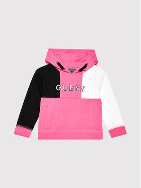 Guess Guess Džemperis H1YJ00 KAD70 Rožinė Regular Fit