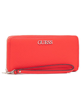 Guess Guess Portefeuille femme grand format Alby (VG) Slg SWVG74 55460 Rouge