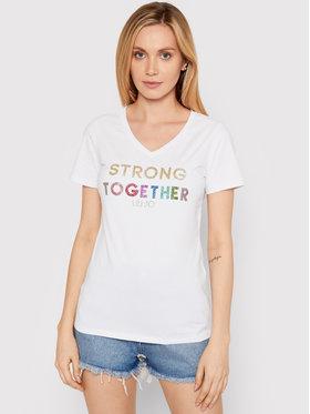 Liu Jo Sport Liu Jo Sport T-shirt TA1212 J5972 Blanc Regular Fit