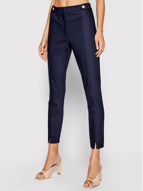 Marella Marella Pantaloni chino Barni 31311011 Bleumarin Slim Fit