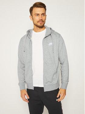 NIKE NIKE Bluză Sportswear Club BV2648 Gri Standard Fit