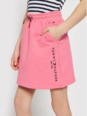 Tommy Hilfiger Tommy Hilfiger Spódnica Essential Hwk KG0KG05783 D Różowy Regular Fit