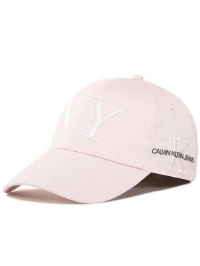 Calvin Klein Jeans Calvin Klein Jeans Czapka Ckj Cap K60K606888 Różowy