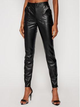 Armani Exchange Armani Exchange Spodnie skórzane 3KYP19 YNVAZ 1200 Czarny Slim Fit