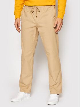 Vans Vans Pantaloni din material Range VN0A5FJJ Bej Relaxed Fit