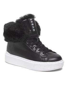 Guess Guess Členková obuv FL8H2S SMA12 Čierna