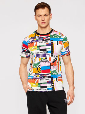 Puma Puma T-shirt Intl Tee 599791 Multicolore Regular Fit