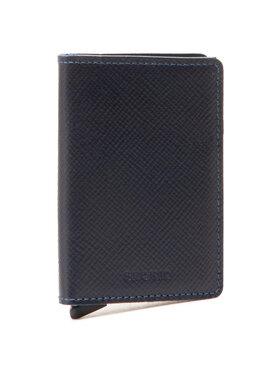Secrid Secrid Малък мъжки портфейл SSa Miniwallet Тъмносин