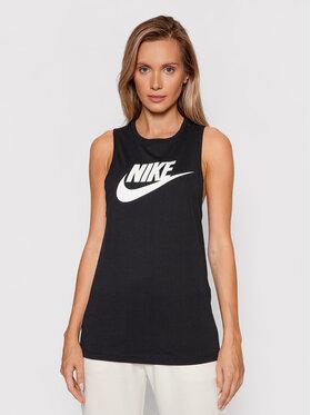 Nike Nike топ Sportswear Futura New CW2206 Черен Regular Fit
