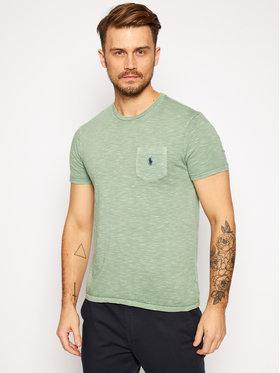Polo Ralph Lauren Polo Ralph Lauren T-Shirt Classics 710795137008 Zelená Custom Fit