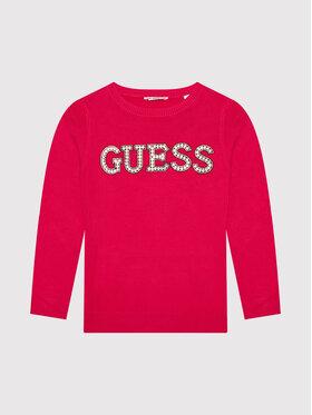 Guess Guess Пуловер J1YR07 Z2NQ0 Червен Regular Fit