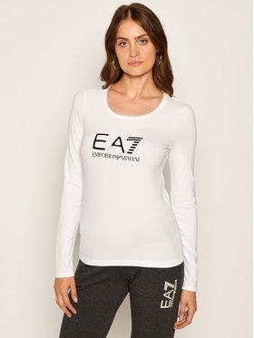 EA7 Emporio Armani EA7 Emporio Armani Bluse 6HTT35 TJ12Z 102 Weiß Regular Fit