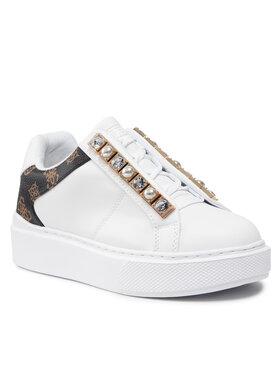 Guess Guess Sneakersy FL8HAY ELE12 Biela