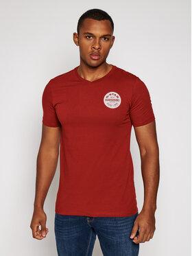 G-Star Raw G-Star Raw T-Shirt Logo D17691-336-5298 Bordó Slim Fit