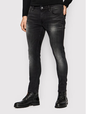 Guess Guess Jeansy M1BAN 1D380 Czarny Skinny Fit