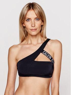 Calvin Klein Swimwear Calvin Klein Swimwear Bikini felső Cut Out KW0KW01300 Fekete