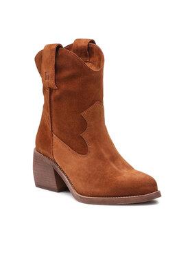 Nessi Nessi Členková obuv 21122 Hnedá