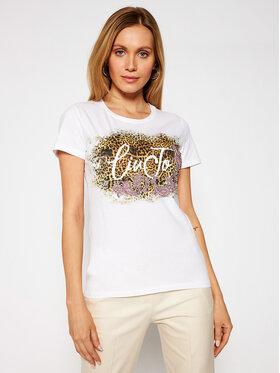 Liu Jo Liu Jo T-shirt WA1569 J0250 Blanc Slim Fit