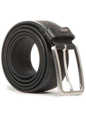 Boss Boss Мъжки колан Calis Logo 50447186 Черен