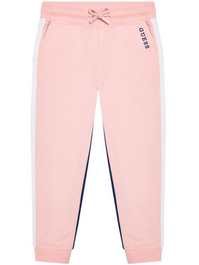Guess Guess Pantaloni da tuta K1RQ01 KA6R0 Rosa Regular Fit
