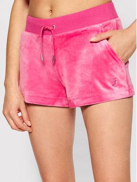 Juicy Couture Juicy Couture Sportovní kraťasy Eve JCCH121001 Růžová Slim Fit