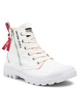 Palladium Palladium Ορειβατικά παπούτσια Pampa Hi Outzp Puotp 77023-116-M Λευκό