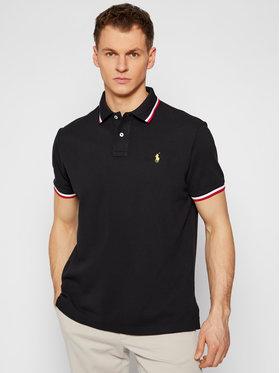 Polo Ralph Lauren Polo Ralph Lauren Тениска с яка и копчета Classics 710828369001 Черен Slim Fit