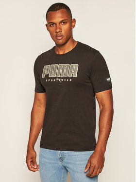 Puma Puma T-shirt Athletics Tee 583450 Noir Regular Fit