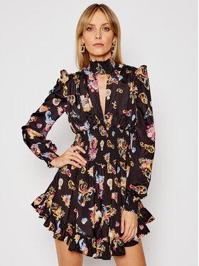 Versace Jeans Couture Versace Jeans Couture Коктейлна рокля D2HWA410 Черен Regular Fit