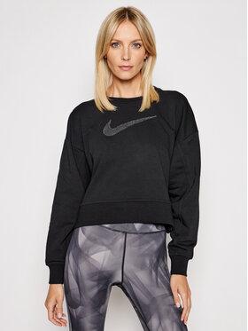 Nike Nike Суитшърт Get Fit CU5506 Черен Oversized Fit