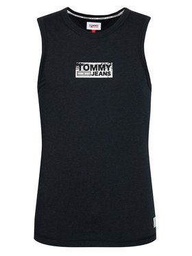 Tommy Jeans Tommy Jeans Tank top Tonal Box Logo DM0DM10273 Μαύρο Regular Fit
