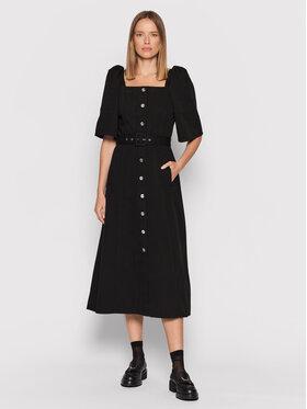 Gestuz Gestuz Ежедневна рокля Malia 10905585 Черен Regular Fit