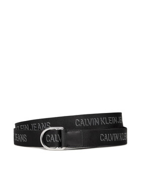 Calvin Klein Jeans Calvin Klein Jeans Dámský pásek Slider D-Ring Belt 30Mm K60K608362 Černá