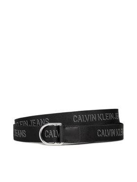 Calvin Klein Jeans Calvin Klein Jeans Ženski remen Slider D-Ring Belt 30Mm K60K608362 Crna