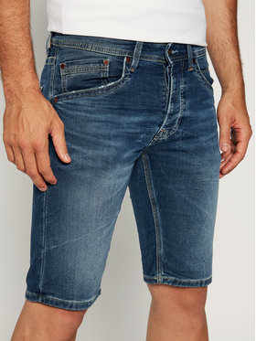 Pepe Jeans Pepe Jeans Jeansshorts Track Short PM800487 Dunkelblau Regular Fit