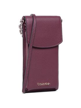 Calvin Klein Calvin Klein Étui téléphone portable Phone Pouch Crossbody K60K607168 Bordeaux