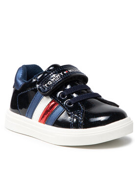 Tommy Hilfiger Tommy Hilfiger Sneakersy Low Cut Lace-Up T1A4-31149-1238 M Granatowy