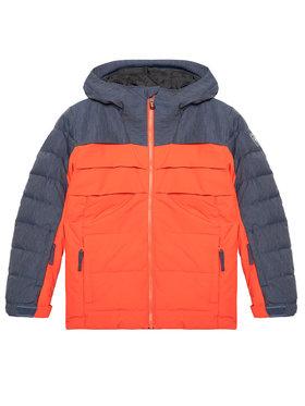 Rossignol Rossignol Lyžařská bunda Polydown RLJYJ04 Oranžová Classic Fit