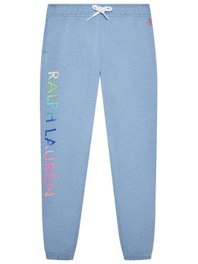 Polo Ralph Lauren Polo Ralph Lauren Teplákové kalhoty 311841396001 Modrá Regular Fit