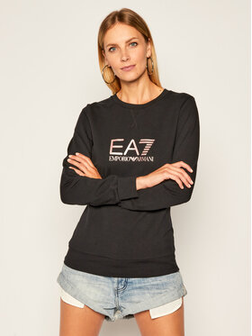 EA7 Emporio Armani EA7 Emporio Armani Sweatshirt 8NTM39 TJ31Z 212 Noir Regular Fit