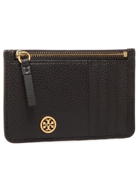 Tory Burch Tory Burch Custodie per carte di credito Walker Top-Zip Card Case 79031 Nero