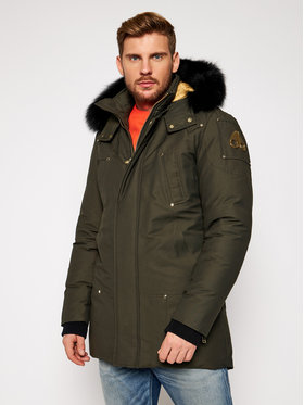 Moose Knuckles Moose Knuckles Parka Stag Lake M39MP261G Zielony Regular Fit