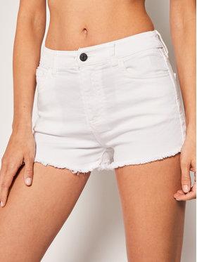 Armani Exchange Armani Exchange Szorty jeansowe 8NYJ59 Y5ECZ 0102 Biały Regular Fit