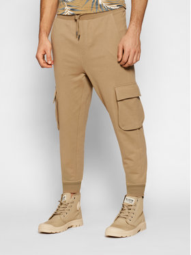 Only & Sons ONLY & SONS Spodnie dresowe Kian 22019485 Brązowy Regular Fit